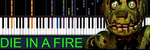 "IMPOSSIBLE REMIX - ""Die In A Fire"" Five Nights at Freddy's 3 (The Living Tombstone)"