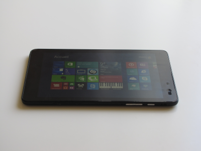 Dell Venue 8 Pro full review - The hardware: display/screen, ambient light sensor, gyroscope...