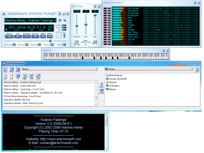 vanBasco's Karaoke Player: complete MIDI and karaoke file player
