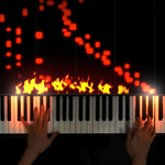 The Flaming Piano